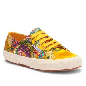SUPERGA 2750 Korelaw Floral Embroidered Sneakers